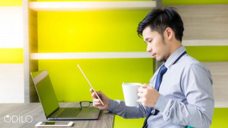 Leitura digital da ODILO para benefício dos funcionários